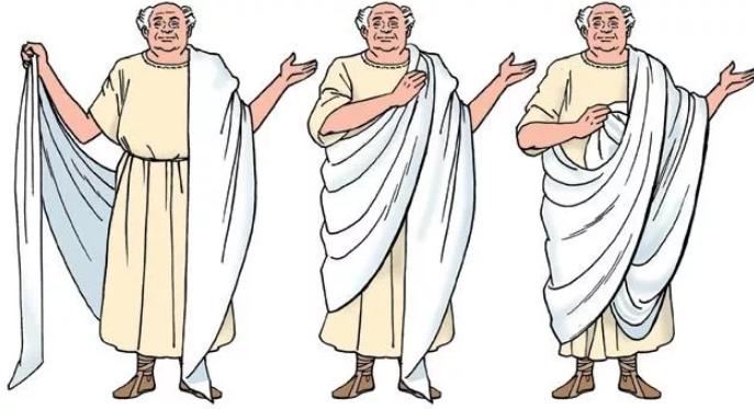 римская тога