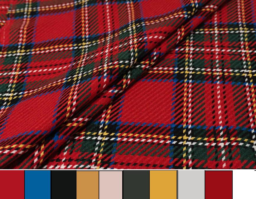 определение цветовой схемы гардероба