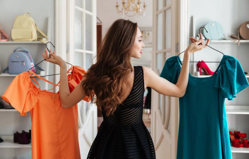 выбирать цвет одежды
