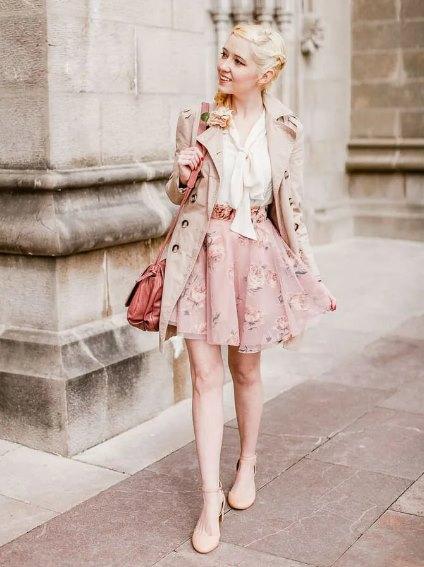 стиль в одежде наивный романтизм