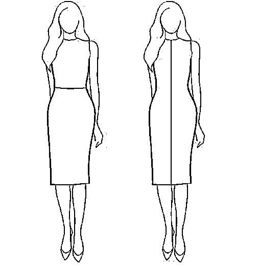 элементы одежды для визуальных иллюзий