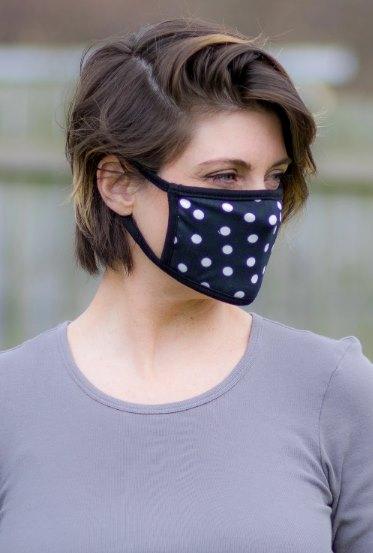 маска в горошек