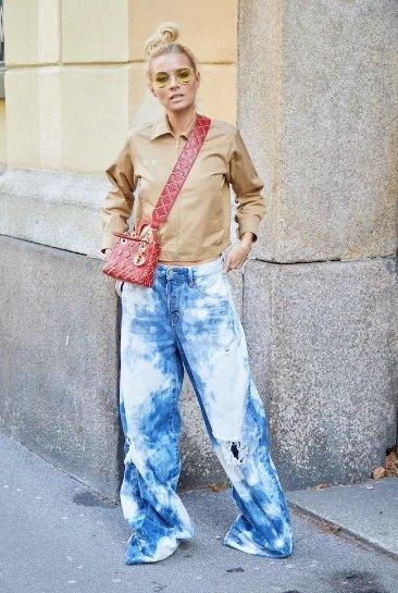 как модно носить тай-да
