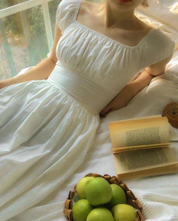 платье в стиле COTTAGECORE