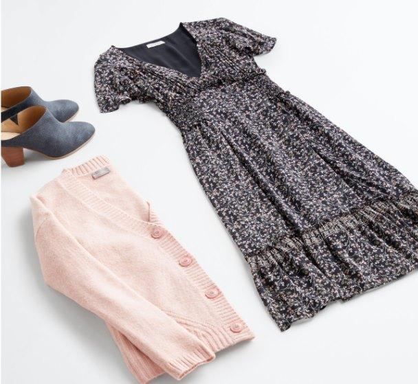 модный контраст текстур