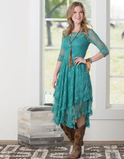 платье для свадьбы в стиле кантри