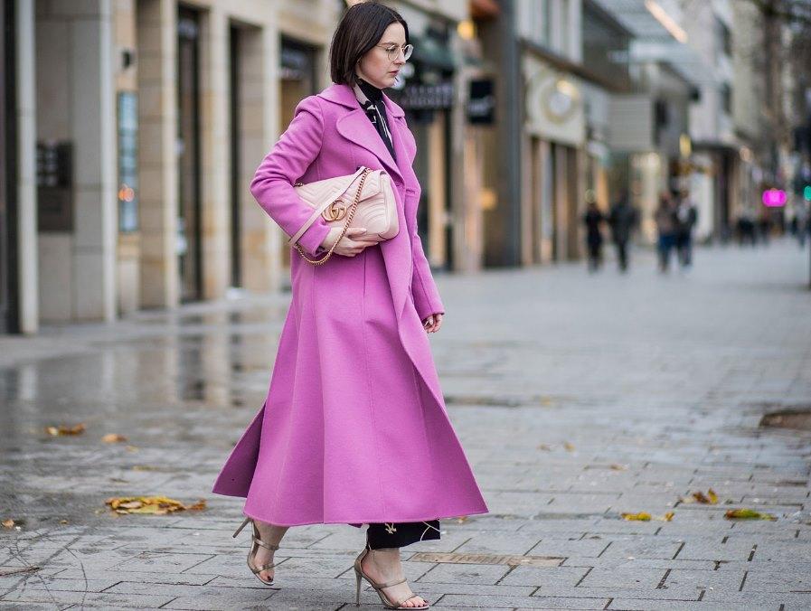 изящное пальто стрит стайл