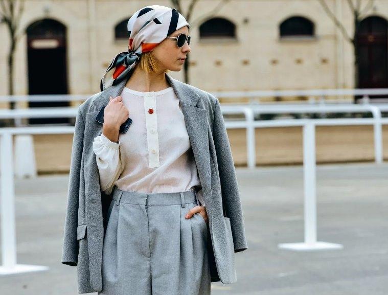 платок - модный головной убор