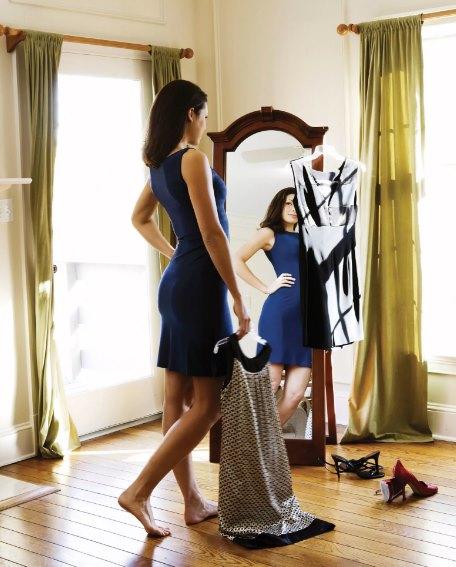 как подобрать размер платья