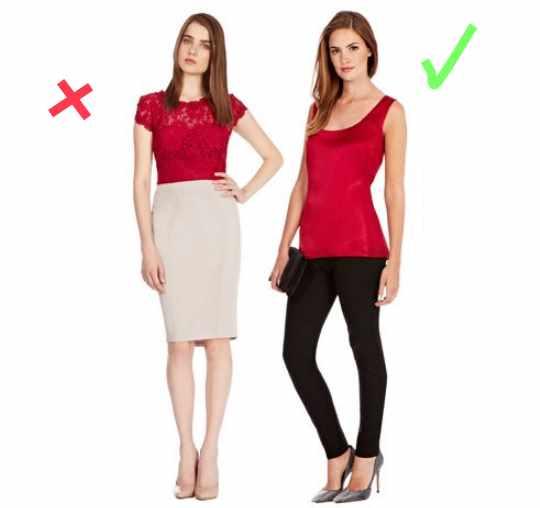 как красиво одеваться при коротком торсе
