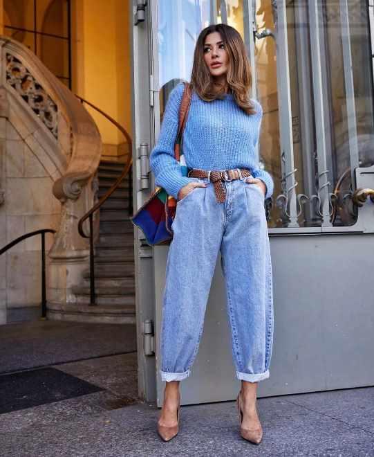 антитренд: джинсы слоучи