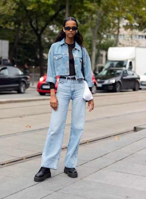 модные женские джинсы 2021