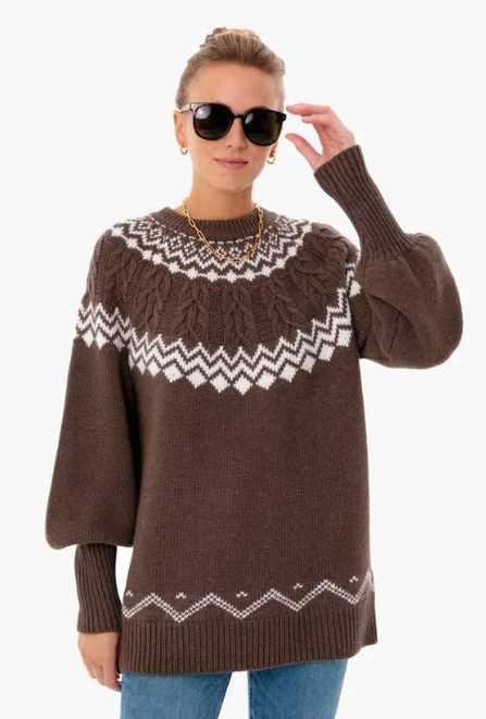 осенние тренды: модный свитер