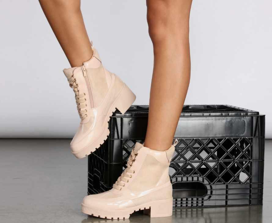 модные осенние ботинки